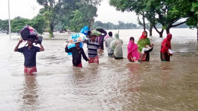 Nearly 2 million affected by floods in Bihar