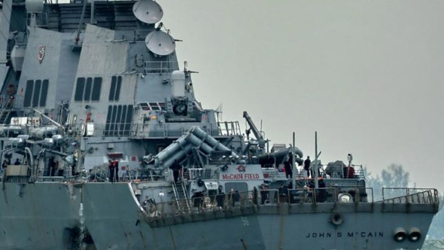US Navy orders operational pause, review after collision