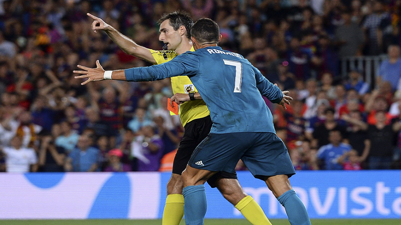 755690333 Cristiano Ronaldo suspended for 5 matches after red card against Barcelona