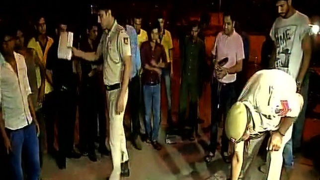 Delhi: Exchange of firing between Delhi police and criminals near Connaught Place