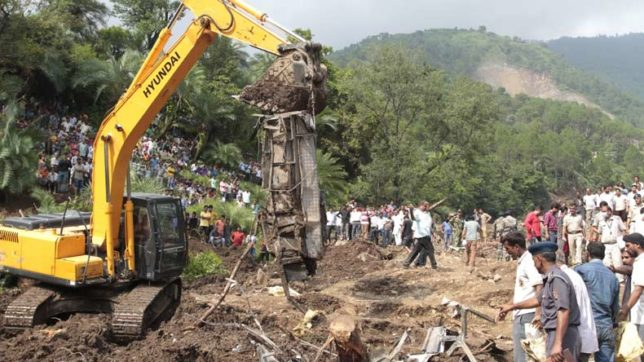 46 dead in Himachal Pradesh mudslide, almost all bodies recovered