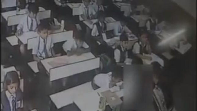 Watch — Lucknow teacher slaps student 40 times for not answering attendance call