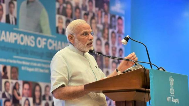 Hold-Every Indian need to own dream of New India: PM Modi