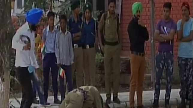 NCC cadets 'thrashed' by instructor in Mohali