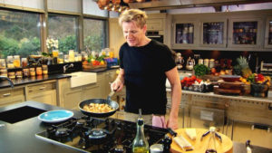 Gordon Ramsay, british celebrity chef, Sukie Mollendor, David Mollendor, beer garden, chef,masterchef, hell's kitchen