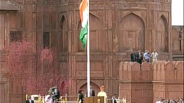 Independence Day: PM Modi unfurls national flag at Red Fort