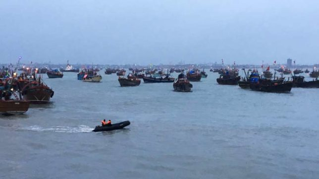 Indian Coast Guard rescues over 40 fishermen off Gujarat coast