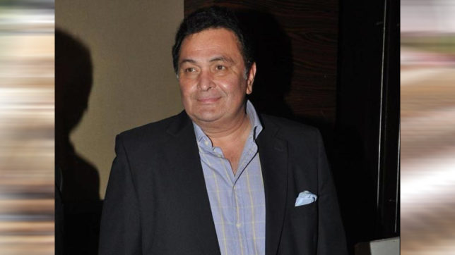 FIR filed against Rishi Kapoor for posting 'indecent' image on Twitter