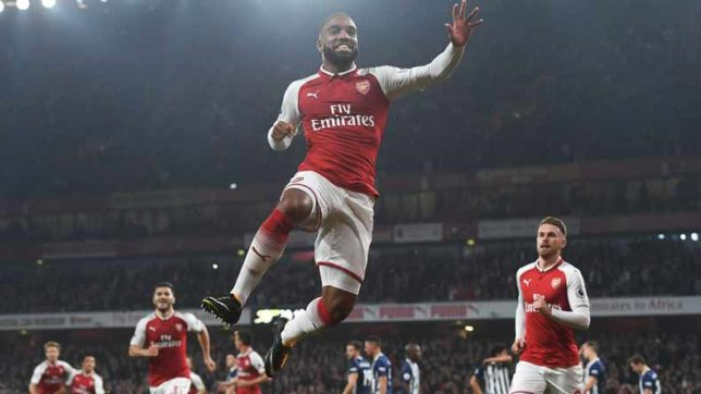 Who said what? as Lacazette fires Arsenal past West Brom