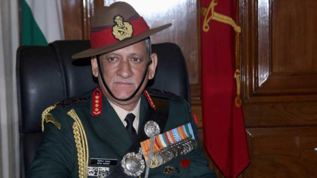 Remember history, China tells India on Army Chief's two-front war statement