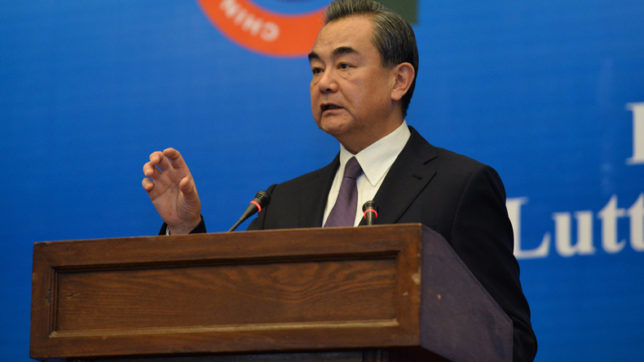 Doklam dispute hurt India-China ties: Chinese Foreign Minister
