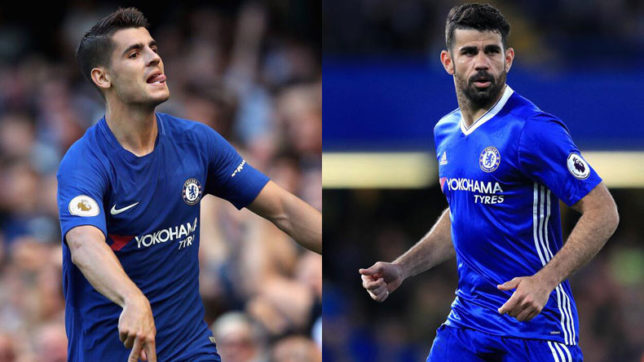 I'll prefer Diego Costa over Morata at Chelsea, says Ray Wilkins