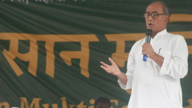 Disappointed over Baba Ramdev's name missing from fake babas list: Digvijaya Singh