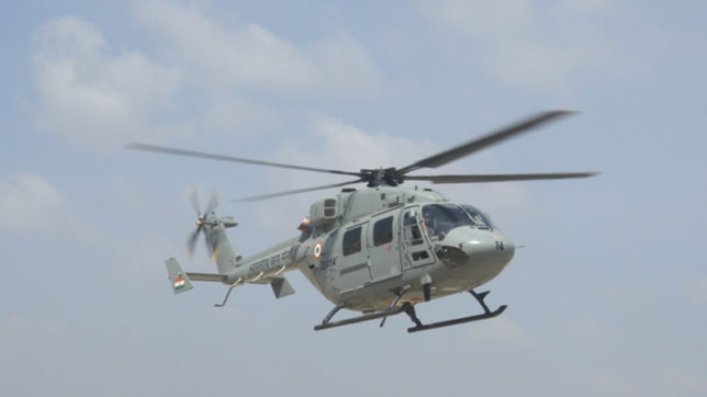 Advanced Light Helicopter crashes in Eastern Ladakh; court of inquiry ordered