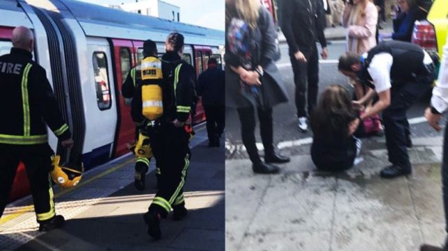 18 injured after explosion inside London tube near Parsons Green Station