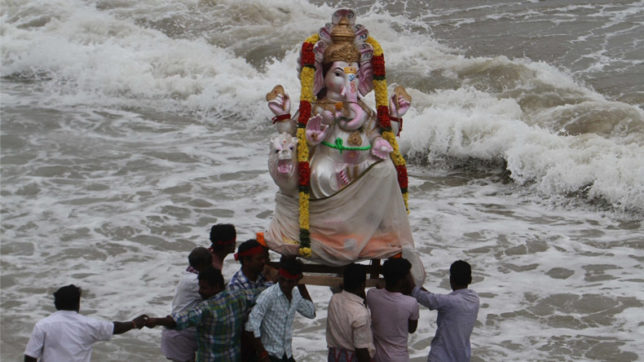 Mumbai set for noisy immersion of Lord Ganesha idols after SC order