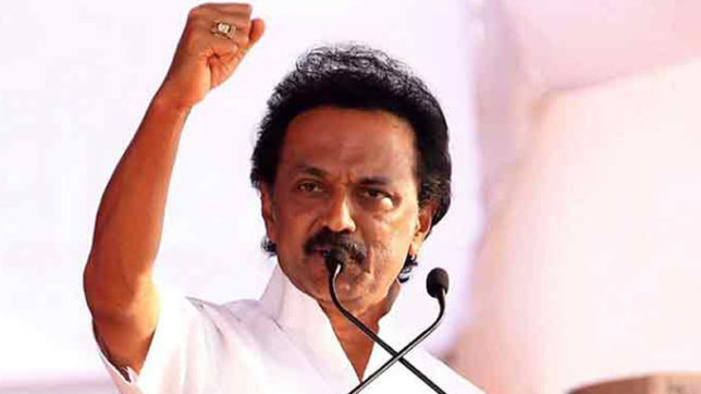 Image result for M. K. Stalin