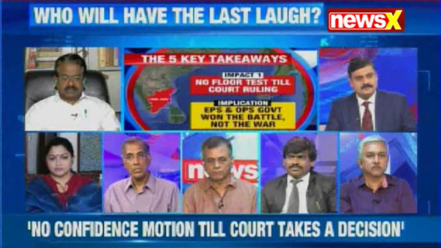 Nation at 9:  What does the Madras HC observation mean for the EPS govt in Tamil Nadu?