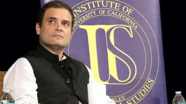 Rahul Gandhi may be elevated as Congress president, hints Veerappa Moily