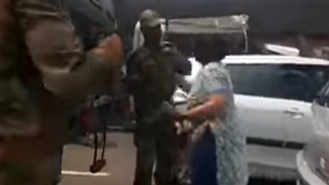 Woman arrested for slapping Army Jawan; FIR registered