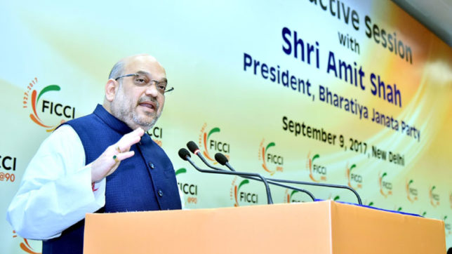 Some leaders speak abroad as nobody listens to them in India: Amit Shah