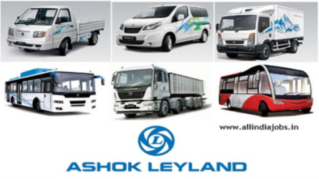 Ashok Leyland sales up 25% in August