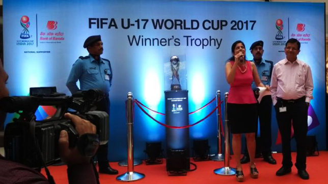 FIFA U-17 World Cup: Trophy Experience travels to Mumbai, stars back Blue Tigers