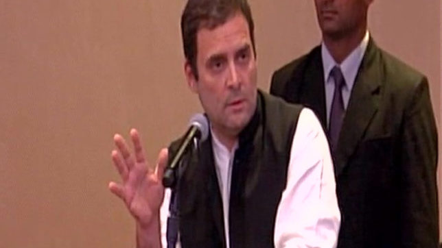 Divisive politics ruining India's reputation abroad: Rahul Gandhi in NY