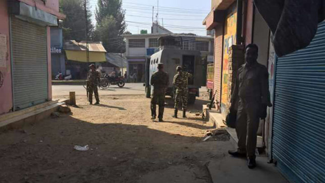 J&K: 3 injured in grenade attack near SBI branch in Sopore, Baramulla