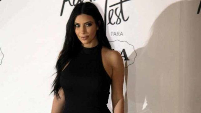 Kim Kardashian strips nude in new image