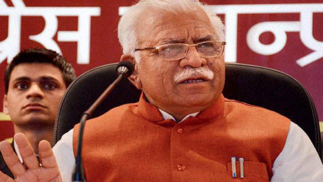 117 Dera campuses sanitised, objectionable items seized: Haryana CMManohar Lal Khattar
