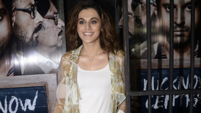Taapsee Pannu defends bikini post with a punch