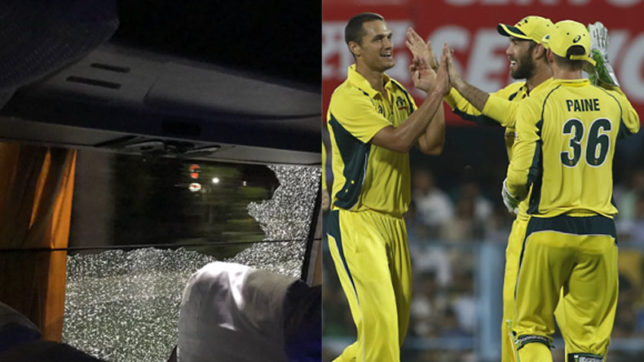 Australian-team-bus-attacked-after-2nd-T20-in-Guwahati;-Aron-Finch-posts-shocking-picture