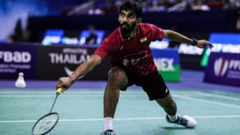 Men's singles top seed Kidambi Srikanth of India tumbled out of the second round (File picture)