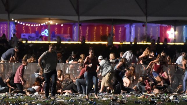 Active shooter reported near Mandalay Bay in Las Vegas