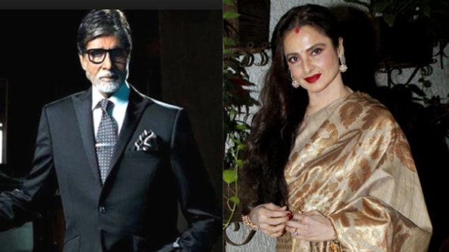The saga of Rekha's so-called 'love' story with Amitabh Bachchan