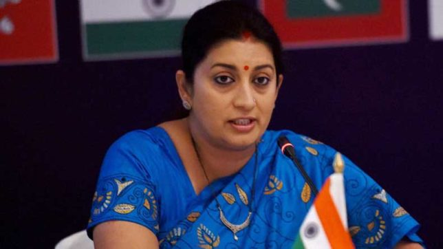 Amethi: Smriti Irani hits out at Rahul Gandhi for being 'inaccessible' to people