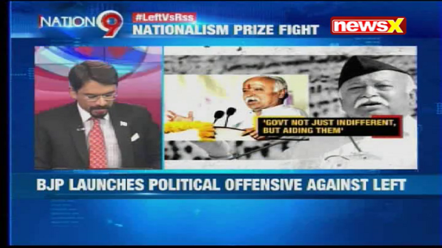 Nation at 9: Vijayan-Bhagwat spat - win the peace = win power?