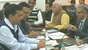 Delhi pollution: Will take all steps possible to tackle situation, says CM Kejriwal after meeting Haryana CM