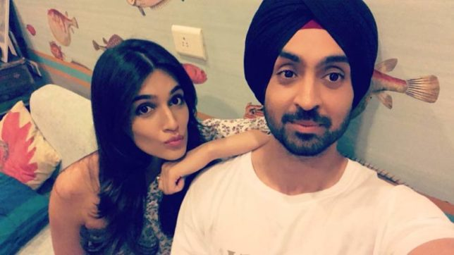 Diljit Dosanjh and Kriti Sanon to set Bollywood on fire with next movie Arjun Patiala
