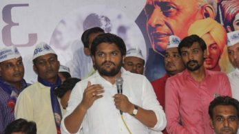The Patidar Anamat Andolan Samiti (PAAS) will hold a mega rally in Mansa town on Saturday evening to demonstrate the community's support to young leader Hardik Patel, ignoring denial of permission by the authorities (Photo : IANS Photo)
