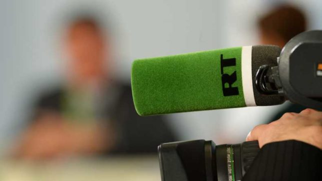Russian news network RT America registers as foreign agent in US