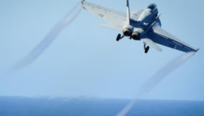 Not funny! US Navy grounds pilots for drawing penis in the sky