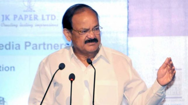 Challenge is to turn youth into entrepreneurs and not job seekers: VP Venkaiah Naidu