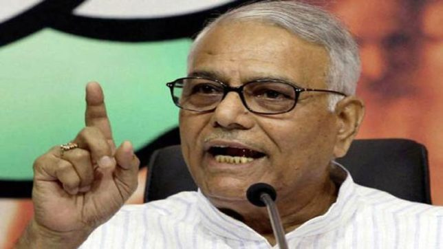 Country can ask Arun Jaitley to resign over failures in note ban, GST: Yashwant Sinha