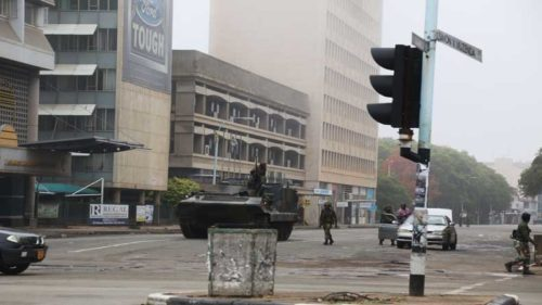 African Union terms Zimbabwe takeover a coup, army denies
