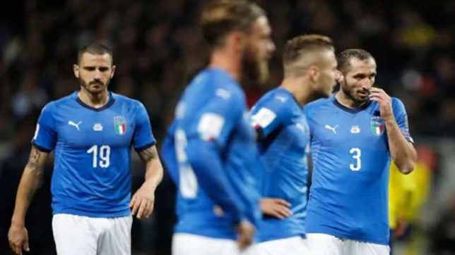 4-time champions Italy fail to reach World Cup for first time in 60 years