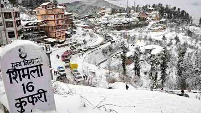 Chandigarh hovers at 9 degrees Celsius, colder than the 'queen of hills'-Shimla