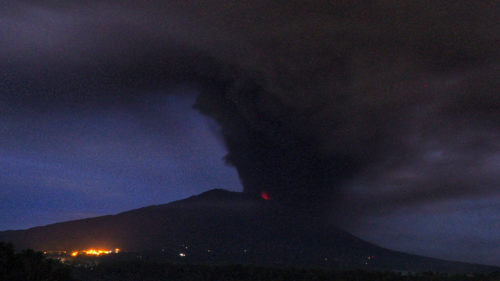 Bali's Mount Agung spews volcanic ash; a look at photos