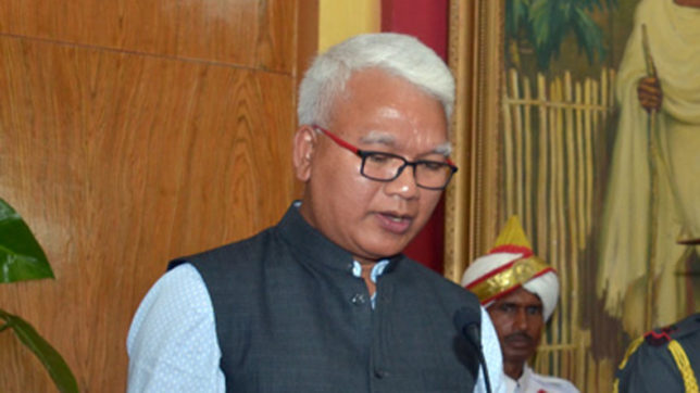 After 5 party MLAs quit, former CM Lapang replaced with Celestine Lyngdoh as Meghalaya Congress president